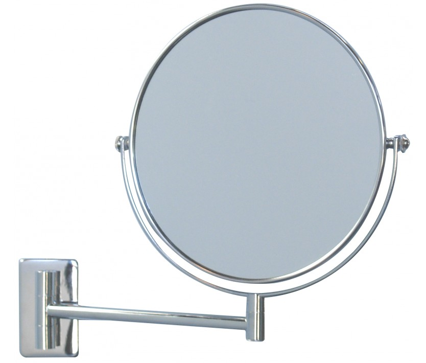 Steel magnification mirror trendy mirrors for Plain frameless mirror